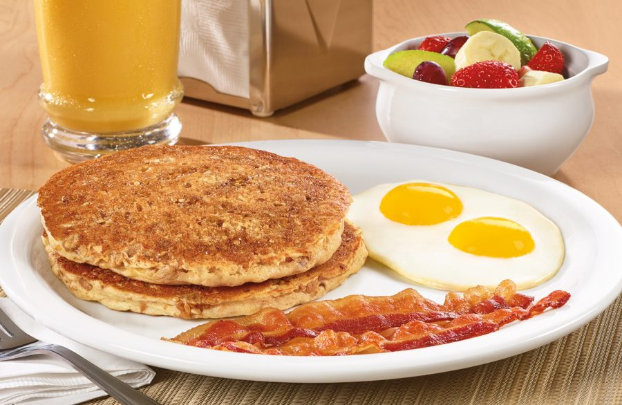 Hearty 9-Grain Pancake Breakfast